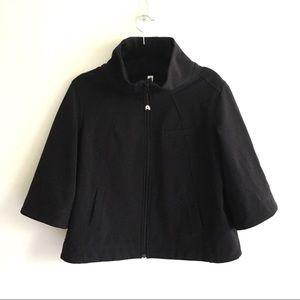 LULULEMON Swing Jacket Cropped 3/4 Sleeve Black 12